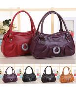 Fashion Classic Women Leather Satchel Shoulder Handbag Ladies Clutch Mes... - $9.99