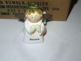 CHRISTMAS ORNAMENTS WHOLESALE- LITTLE ANGELS- 'MELANIE' -  (6) - NEW -S1 - $5.83
