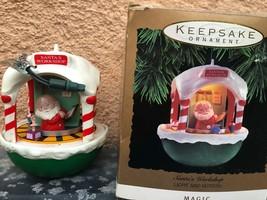 Keepsake Santa's Workshop Lighted Motion Ornament - $14.84