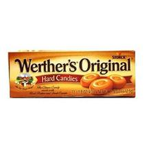 Werthers Original Hard Candy Rolls, 12 Count (SUGAR CANDY - REGULAR SIZE) - $17.94