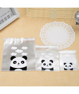 100PCS Panda Chicks Printed Self-adhesive Plastic Cookie Bags Wedding Gift - $4.95+