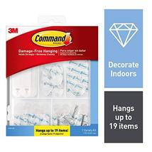 Command Clear Variety Kit, 17232-ES, Hangs Up to 19 Items image 11