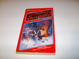 Empire Strikes Back Novel - Glut - Paperback --Red Cover-- Star Wars - E... - $19.99