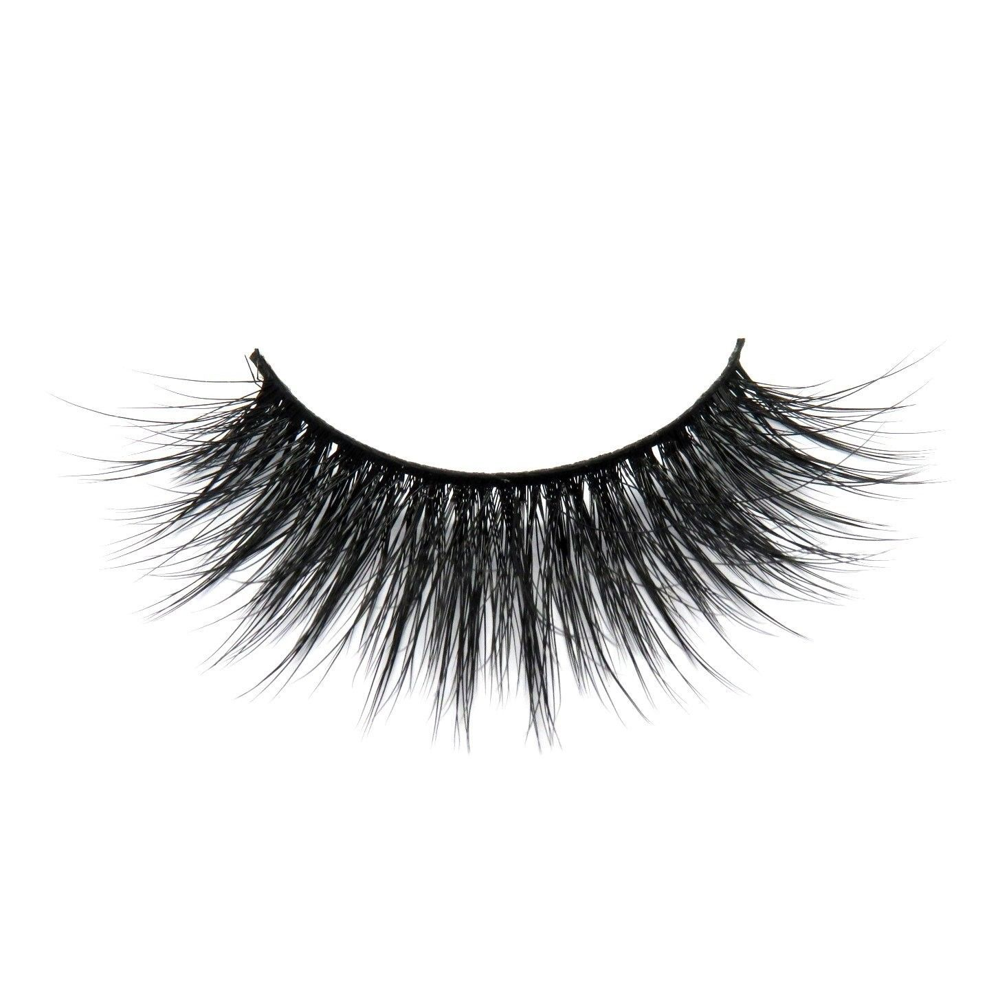 Primary image for Luxury 3D Synthetic Faux Mink Lashes Volume Silk Angel Wing Natural Long Thick F
