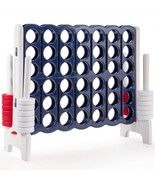 Jumbo 4-to-Score 4 in A Row Giant Game Set with Storage Carrying Bag - £184.22 GBP