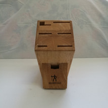 JA Henckels International 6-Slot Wooden Knife Block # 916 - $19.34