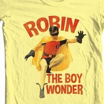 Robin The Boy Wonder T-shirt Bat-Man vintage TV show Burt Ward 100% cotton tee image 1