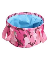 Panda Legends Folding Bucket Portable Collapsible Bucket Wash Kit Collap... - $18.39