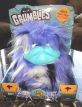 GRUMBLIES BOLT TOY INTERACTIVE TOY PLUSH NEW ACTION FIGURE POMSIES - $10.00