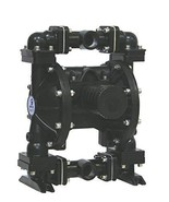 Double Teflon Diaphragm Air Pump PII.100AT Chemical Industrial Aluminum ... - $1,089.00