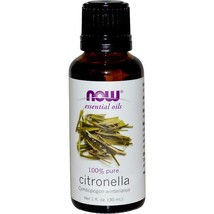 Now Foods, Essential Oils, Citronella, 1 fl oz (30 ml)  Aromatherapy - $8.00