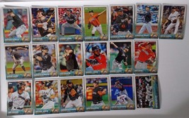 2015 Topps Series 1 & 2 Miami Marlins Team Set of 19 Baseball Cards - $1.99