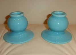 Made in USA Pottery Candlestick Fiesta??? - $49.00
