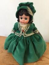 """Madame Alexander Scarlett Jubilee II Green Velvet Dress Gone W The Wind Doll 8"""" - $79.99"""