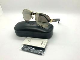 New Coach Sunglasses HC87059 92385A GOLD/DARK Tortoise 58-15-135MM - $77.70