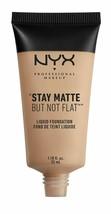 NYX Cosmetics Stay Matte But Not Flat Liquid Foundation Soft Beige - $19.80