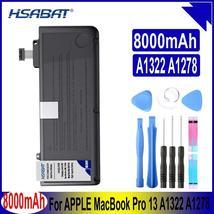 "HSABAT A1322 8000mAh Battery for APPLE MacBook Pro 13 "" Unibody A1278 MC700 MC37 - $66.32+"