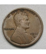 1915-S Lincoln Wheat Cent FINE Coin AE460 - $22.19
