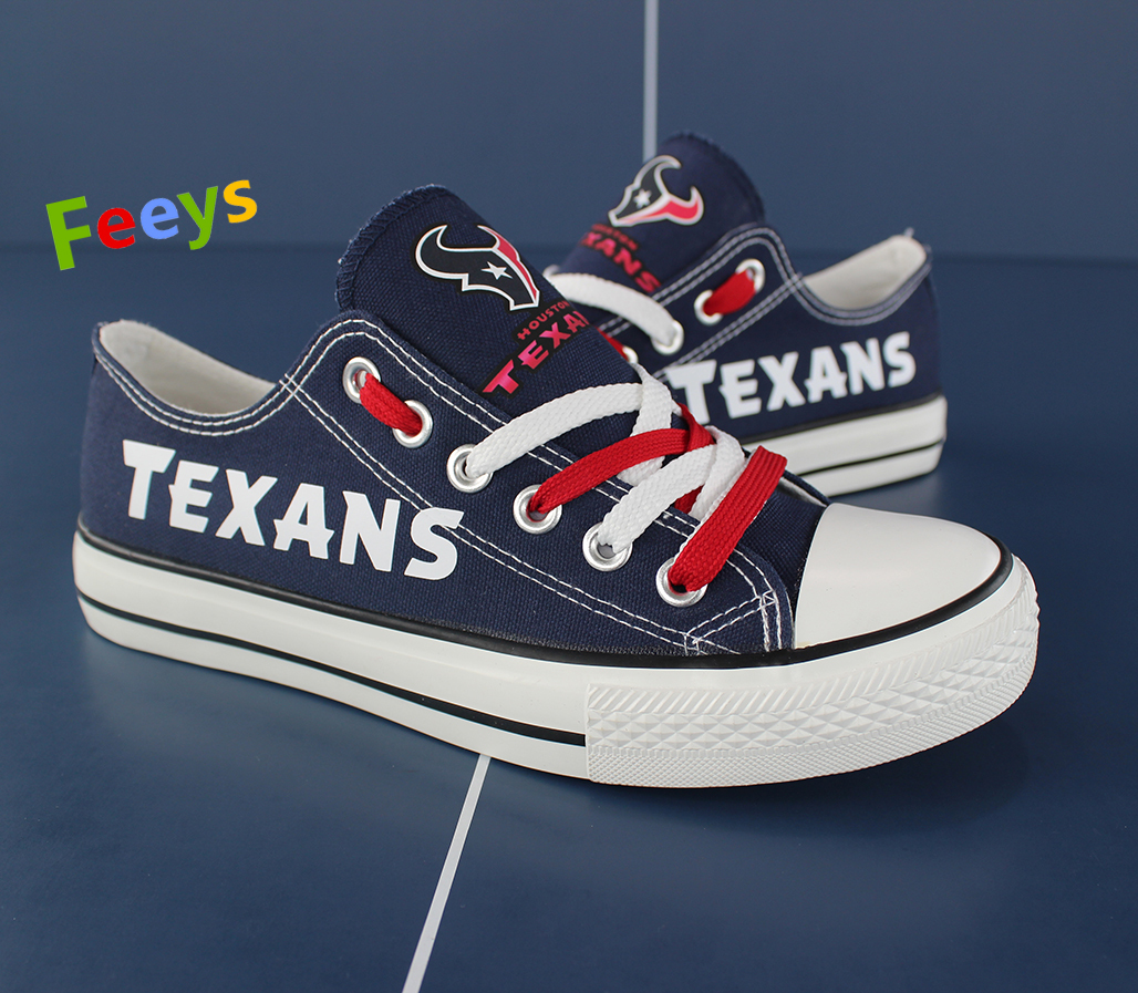 Houston Texans shoes Texans sneakers Fashion Christmas gift birthday gift for