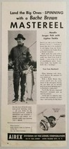 1949 Print Ad Airex Bache Brown Fishing Reels Lionel Corporation Long Is... - $11.79