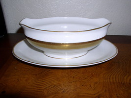 Royal Jackson Fine China - Elegance -  Gravy Boat with Attached Underplate - $119.95