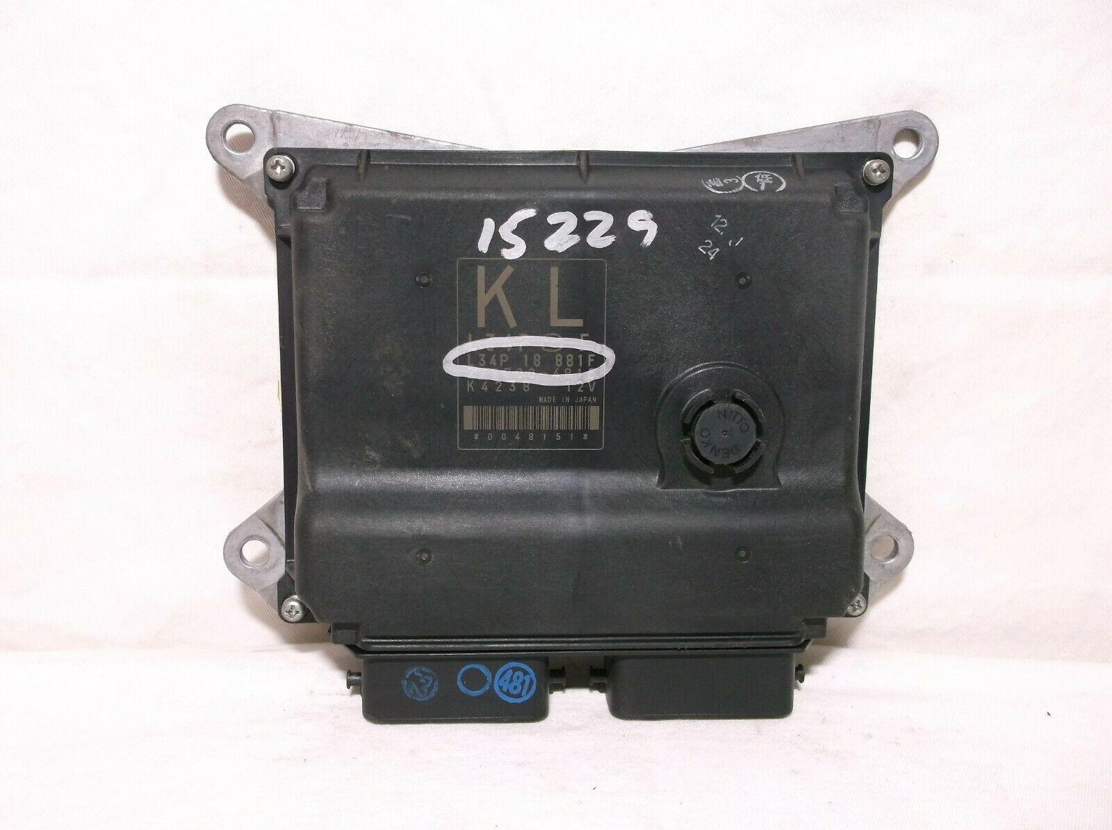 07-08-09  MAZDA 3/  2.3L/  M/T/  ENGINE CONTROL MODULE/ COMPUTER/ ECU.ECM.PCM - $90.88