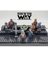 Star Wars The Mandalorian Season 1 Custom 10 Minifigures Sets - USA SELLER - $23.99