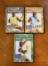 Billy Blanks BootCamp 3 DVD Lot: Ultimate, Cardio, Abs Tae Bo Workout Ex... - $11.85