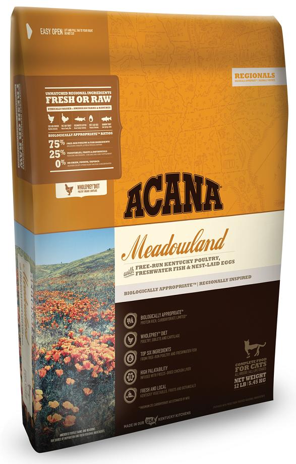 ACANA Regionals Meadowland Formula Cat and Kitten Grain Free Dry Cat Food - $39.99