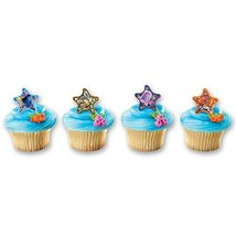 DecoPac Finding Nemo Starfish Assortment Cupcake Rings (12 Count) - $3.99