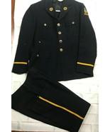 Vintage Wisconsin American Legion Dress Uniform Jacket And Pants Buttons - $59.39