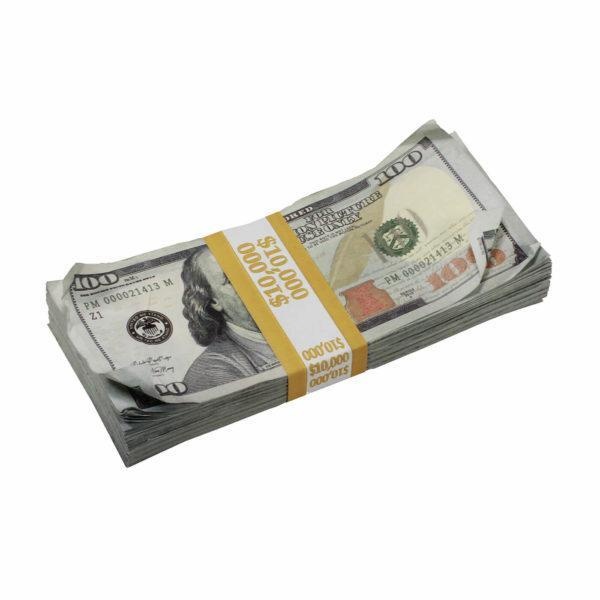New Style $1,000,000 Aged Blank Filler Prop Money Bundle Realistic Prop Money image 2