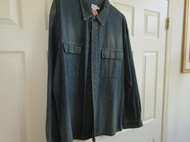 Calvin Klein Jeans , Size XL/XG , Men's Long Sleeve Shirt  , 100% Cotton - $29.65