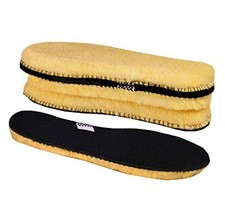 3 Pairs Insoles Women's Premium Thick Wool Fur Fleece Inserts Cozy & Fluffy,A10 - $14.83