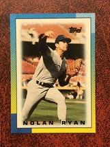 1990 Topps Mini #39 Nolan Ryan Texas Rangers Baseball Card - $0.99
