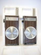 1970s Vintage NIB 5 Transitor Granada 9V Battery Operated Walkie Talkies - $47.49