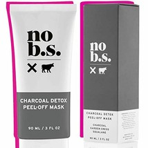 No B.S. Charcoal Peel Off Face Mask - Deep Cleaning Blackhead Remover Ma... - $38.71
