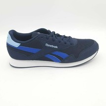 Reebok Womens Royal Classic Running Shoes Blue White FX0837 Lace Up 10 M... - $25.02