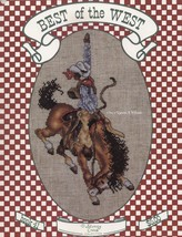 Best of the West, Stoney Creek Cowboy & Indians Cross Stitch Pattern Boo... - $4.95
