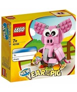 Lego 40186 New Year of the Pig 153 pcs New with Box - $17.61