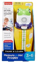 Fisher Price - Measure with Me Froggy - FGL36 - NEW - $19.51