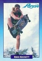 Rikki Rockett trading Card (Poison) 1991 Brockum Rockcards #256 - $4.00
