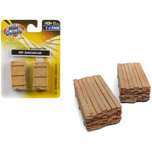 Stacked Lumber Loads 2 piece Accessory Set 1/87 (HO) Scale by Classic Me... - $19.56