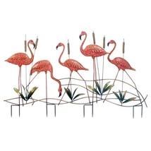 Decorative Garden, Small Pink Flamingo Stake Home Outdoor Garden Decor, ... - $90.59
