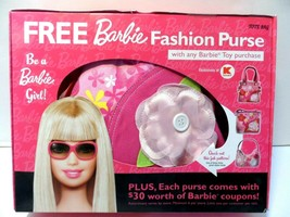 Barbie Fashion Purse from Kmart Tote Bag NEW - $19.33