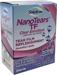 Nanotears tf gel mild dry eye