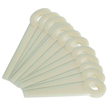 "Nylon Trimmer Blades 4111 007 100, 531031067,.475"" hole size 4 1/16""L - $12.91"