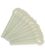 "Nylon Trimmer Blades 4111 007 100, 531031067,.475"" hole size 4 1/16""L - $12.91"