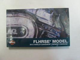 2013 Harley Davidson FLHRSE5 Modelos Usuario Operadores Dueños Manual Nu... - $59.76