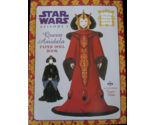 Star Wars Queen Amidala Paperdoll Book Naboo Episode 1 New Uncut 1999 Paper Doll